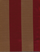 Monte Carro 700 Red Stripes, 140cm Sold By Yard