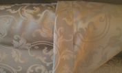 Montecarro Collection, Colour Sand 400 Jacquard Floral, Fabric By the Yard
