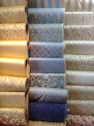 Montecarro Collection, Colour Sand Jacquard Floral, Fabric By the Yard