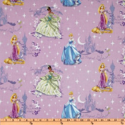Disney Princess Beautiful Glow Scenic Purple Fabric