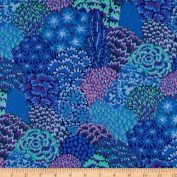 Kaffe Fassett Fall 2012 Collective Oriental Trees Blue Fabric