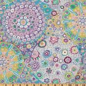 Kaffe Fassett Millefiore Lilac Fabric