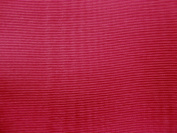 180cm Wide Cranberry Bengaline Moire Yardage