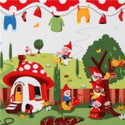 Michael Miller fabric Gnomeville gnomes dots