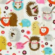 Michael Miller fabric Hedgehog Meadow cute hedgehogs