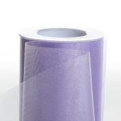 Koyal Wholesale 25-Yard Sheer Organza Fabric Roll, 15cm , Lavender