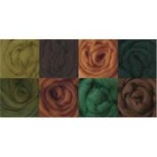 Wistyria Editions Ultra Fine 30cm Wool Roving .650ml 8-Pack