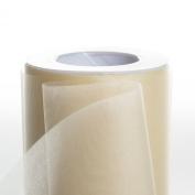 Koyal Wholesale 25-Yard Sheer Organza Fabric Roll, 15cm , Ivory