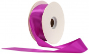 Offray Single Face Satin Craft 2.2cm by 100-Yard Ribbon Spool, Purple
