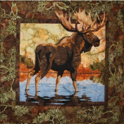 Hidden Lake Moose Toni Whitney Designs Applique Quilt Pattern
