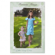 Favourite Little Things The Little Wrap Dress Pattern
