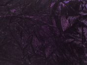Crushed Upholstery Velvet Purple 150cm By the Yard