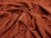 Brick Stretch Cotton Velveteen Fabric 150cm Wide By the Yard