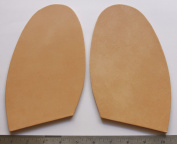 """Leather Replacement Half Soles 5.5 mm Thick Extra Wide Rigit & Dense Approx 5 x 8"""" XXL"""