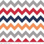 Chevron Stripe Boy Flannel Fabric SKU F320-02