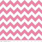 Chevron Stripe Pink Flannel Fabric SKU F320-70