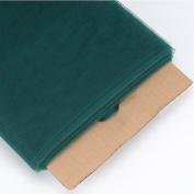 Hunter Green 140cm Tulle Fabric Bolt 140cm 40 Yards