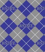 KANSAS STATE WILDCATS Fleece Fabric-KANSAS STATE WILDCATS Fleece Fabric Sold By the Yard