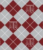 Texas A & m Aggies Fleece Fabric-texas A & m Tam Fleece Fabric Sold By the Yard