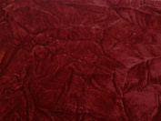 Crushed Upholstery Velvet Burgundy 150cm By the Yard