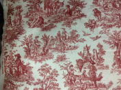 Waverly Rustic Life Crimson Toile Echos of Ireland Multipurpose Drapery Fabric