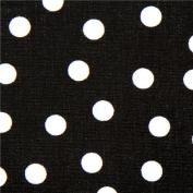 Robert Kaufman premium laminate fabric with polka dots