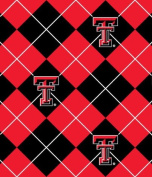 University of Texas Tech 100% Polyester Fleece 150cm Wide By the Yard