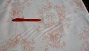 P Kaufmann Pink Cherub Cotton Toile Duck Fabric Material