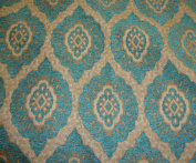 Marina Oval Chenille Upholstery Drapery Fabric By the Yard 140cm Wide