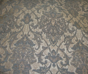 Royalty Damask Chenille Upholstery Drapery Fabric By the Yard 140cm Wide