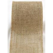 Burlap Ribbon 6.4cm Wide Ecofriendly Natural Burlap Jute Ribbon 10 Yards Roll