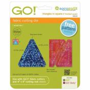Go! Fabric Cutting Die-Triangles In Square -5.1cm x 5.1cm