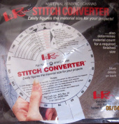 LoRan Stitch Converter for Material / Fabric / Canvas - Easily Figures Material Size for Projects!