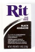 Rit Dye Powder Dye, 30ml, Black, 3-Pack