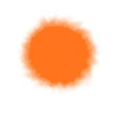 Sew Easy Industries Tumble-Dye Bottle, 0.9l, Neon Orange