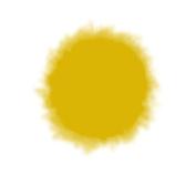 Sew Easy Industries Tumble-Dye Bottle, 0.9l, Mustard