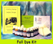 Colorhue Silk Dye Kit with Scarf