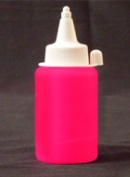 RED UV Reactive Fabric Material Paint 1oz