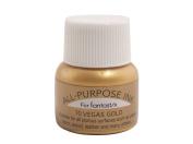 Tsukineko 0.5-Fluid-Ounce All Purpose Ink, Vegas Gold