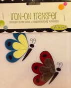 Delightful Butterflies ~ Iron-on Transfer ~ Spring Creative ~ 'Let's Do Fun!'