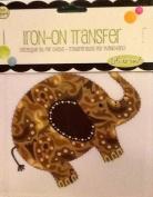 Marvellous Paisley Elephant ~ Iron-on Transfer ~ Spring Creative ~ 'Let's Do Fun!'