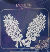 Spring Bouquets Venice Lace Appliques Decorative Trim - Modern Romance