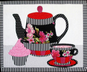 Artsi2 A2TEAST3 Tea Set Wall Hanging Kit