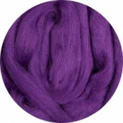 Merino Wool Roving for Felting - 30ml Purple