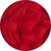 Merino Wool Roving for Felting - 30ml Red