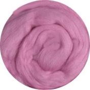 Merino Wool Roving for Felting - 30ml Pink