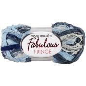 Fabulous Fringe Yarn-Dashes Of Denim