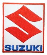 SUZUKI Motorcycles Supercross Racing Bikes Label Shirt Patches