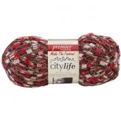 SMC Argentina Yarn Ruffle Scarf Knitting Yarn colour NAVY