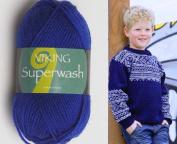 50g50ml Superwash Wool Sportsgarn Double Knitting Yarn By Viking Garn #124